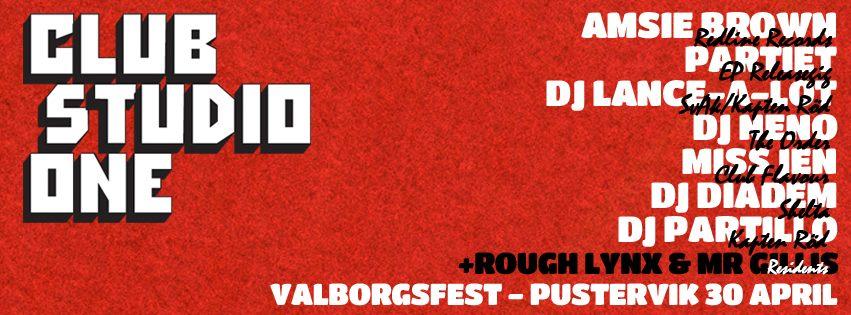 Valborg2014_ClubStudioOne