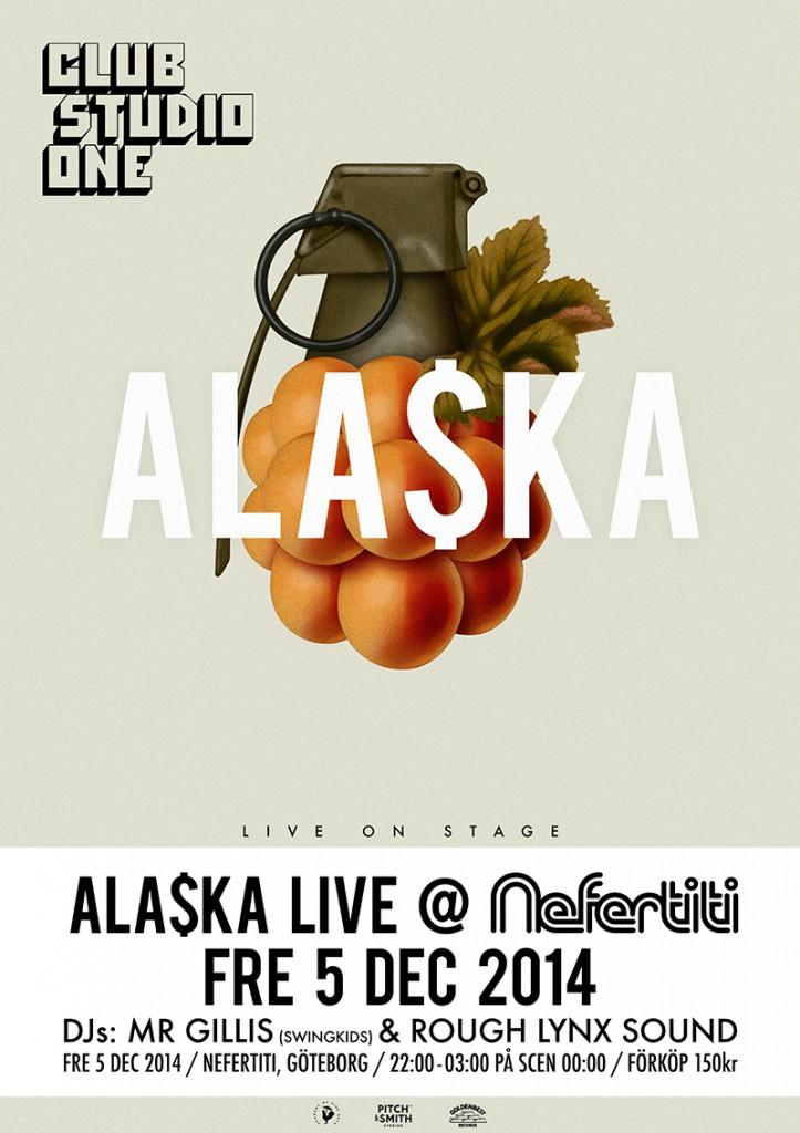 Alaska Poster A1 Nef